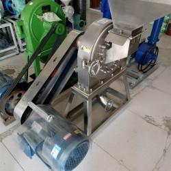 供应不锈钢粉碎机 五谷杂粮磨粉打粉机 中YAO粉碎机好项目